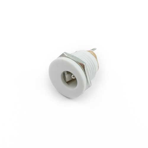 White DC Power Jack 2.1mm