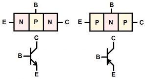 pnp npn bjt bipolar transistor structure