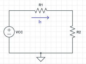 current arrow circuit example
