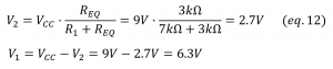 electric power voltage divider circuit 4