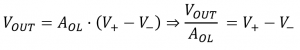 opamp buffer analysis equation