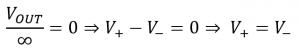 opamp buffer output equation