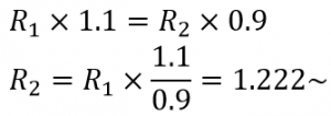 blog resistor tolerance equations